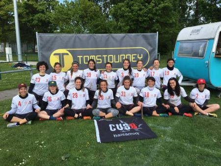 Команда CUSB Shout на турнире Tom's Tourney 2019 (Ladies, 4/16)