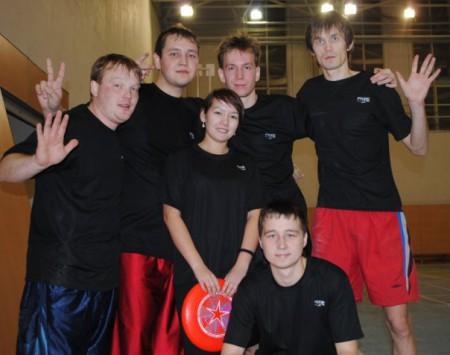 Команда Black Catchers натурнире Конституционный слет 2009 (Второй дивизион, 6/9)