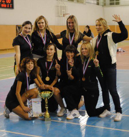 Команда Ре:Диски натурнире Конституционный слет 2009 (ЖД, 1/8)