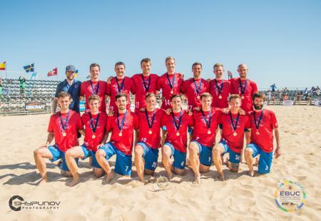 Команда GBR Men's натурнире EBUC 2019 (ОД, 1/13)