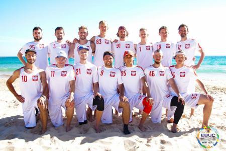 Команда POL Men's натурнире EBUC 2019 (ОД, 4/13)