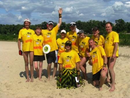 Команда Гавайи натурнире Kiev Hat 2009 (Второй дивизион, 7/12)