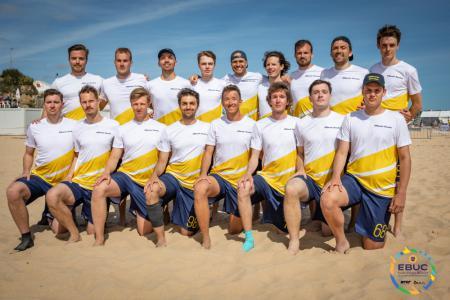 Команда SWE Men's натурнире EBUC 2019 (ОД, 5/13)