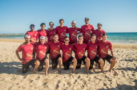 Команда POR Men's натурнире EBUC 2019 (ОД, 10/13)
