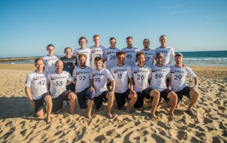 Команда GER Men's натурнире EBUC 2019 (ОД, 8/13)