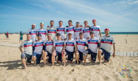 Команда RUS Men's натурнире EBUC 2019 (ОД, 2/13)