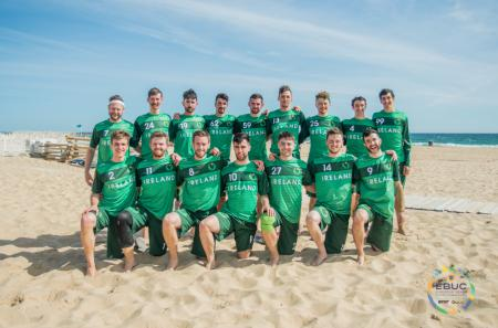 Команда IRL Men's натурнире EBUC 2019 (ОД, 7/13)