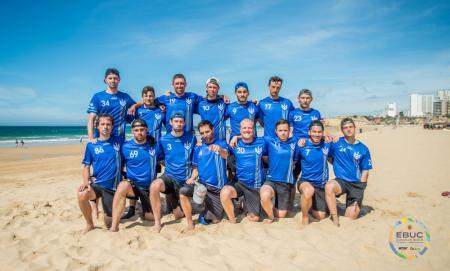 Команда UKR Men's натурнире EBUC 2019 (ОД, 12/13)
