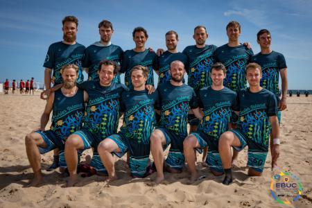 Команда CUR Men's натурнире EBUC 2019 (ОД, 13/13)