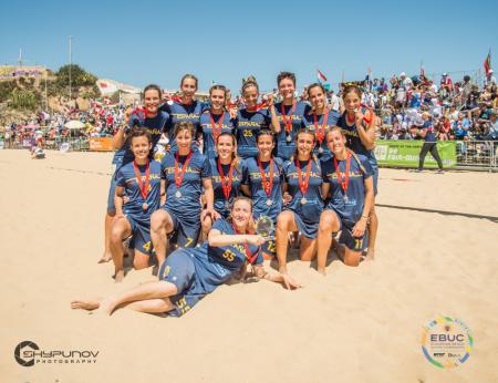 Команда ESP Women's натурнире EBUC 2019 (ЖД, 2/7)