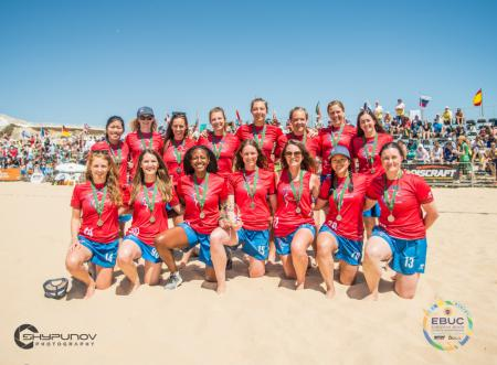 Команда GBR Women's натурнире EBUC 2019 (ЖД, 7/7)