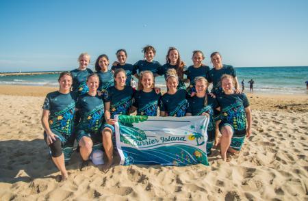 Команда CUR Women's натурнире EBUC 2019 (ЖД, 6/7)