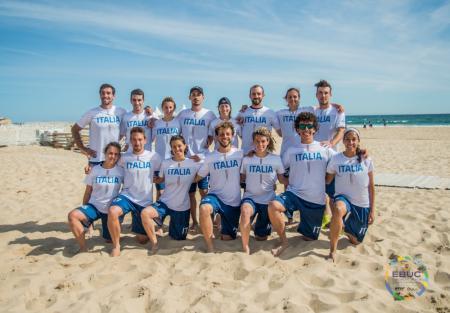 Команда ITA Mixed натурнире EBUC 2019 (МД, 6/18)