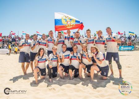 Команда RUS Mixed натурнире EBUC 2019 (МД, 1/18)