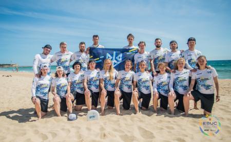Команда UKR Mixed натурнире EBUC 2019 (МД, 10/18)