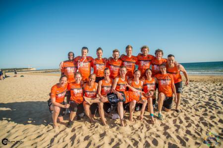 Команда NED Mixed натурнире EBUC 2019 (МД, 11/18)