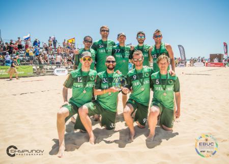 Команда IRL Master Men's натурнире EBUC 2019 (OM, 8/14)