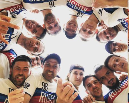 Команда RUS Master Men's натурнире EBUC 2019 (OM, 6/14)