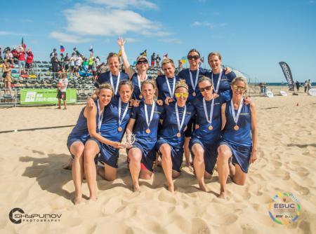 Команда SWE Master Women's натурнире EBUC 2019 (WM, 3/6)