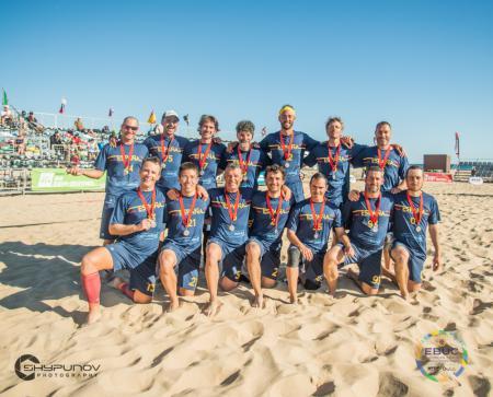 Команда ESP Grand Master Men's натурнире EBUC 2019 (GOM, 2/10)