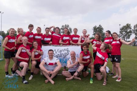 Команда Bristol Women натурнире Vienna Spring Break 2019 (ЖД, 1/16)