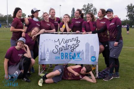 Команда Chicas Munich натурнире Vienna Spring Break 2019 (ЖД, 15/16)