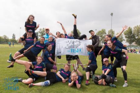 Команда SYC натурнире Vienna Spring Break 2019 (ЖД, 6/16)