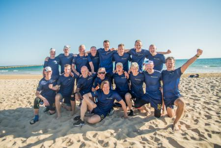 Команда SWE Great Grand Master Men's натурнире EBUC 2019 (Мужской Грейт Гранд Мастерс, 1/8)