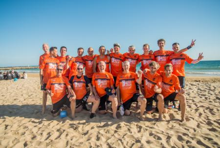 Команда NED Great Grand Master Men's натурнире EBUC 2019 (Мужской Грейт Гранд Мастерс, 2/8)