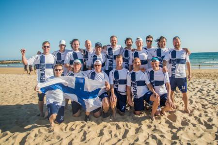 Команда FIN Great Grand Master Men's натурнире EBUC 2019 (Мужской Грейт Гранд Мастерс, 5/8)
