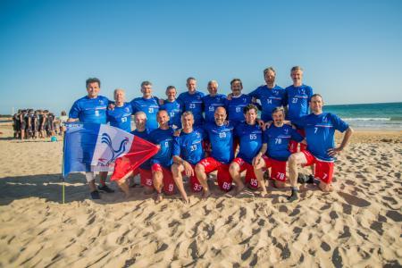Команда FRA Great Grand Master Men's натурнире EBUC 2019 (Мужской Грейт Гранд Мастерс, 6/8)
