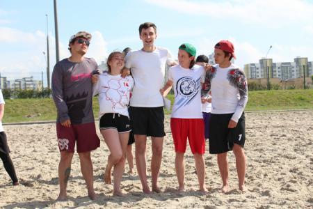 Команда B4 Десятый поинт натурнире Spring Beach Hat 2019 (МД, 5/10)