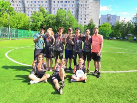 Команда Смельчаки натурнире 4 этап ЮПР DISCOVERY (OU17, 3/8)
