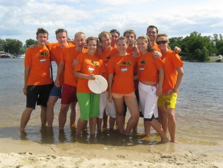 Команда Нидерланды натурнире Kiev Hat 2009 (Второй дивизион, 9/12)