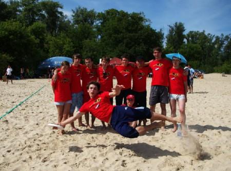 Команда Силенд натурнире Kiev Hat 2009 (Второй дивизион, 10/12)