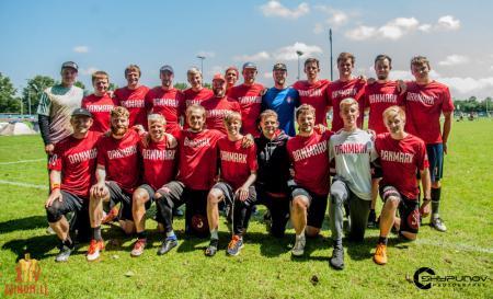 Команда Denmark Open натурнире Windmill 2019 (ОД, 9/22)