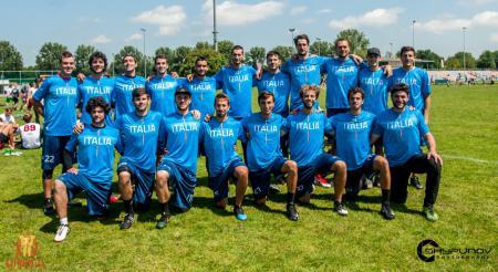 Команда Italy Open натурнире Windmill 2019 (ОД, 7/22)