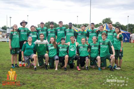 Команда Ireland Mixed на турнире Windmill 2019 (МД, 7/40)