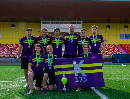 Команда К-175 натурнире STONE CUP 2019 (МД, 1/4)