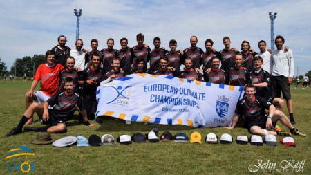 Команда AUT MEN натурнире EUC 2019 (ОД, 6/20)