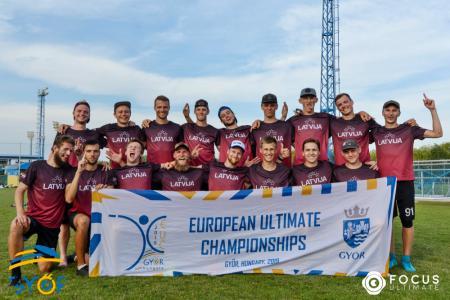 Команда LAT MEN натурнире EUC 2019 (ОД, 10/20)