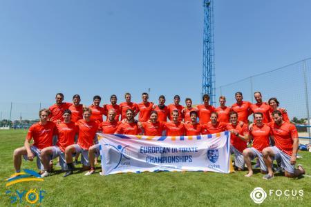 Команда SUI MEN натурнире EUC 2019 (ОД, 4/20)