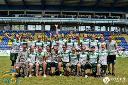 Команда IRL WMN натурнире EUC 2019 (ЖД, 1/15)