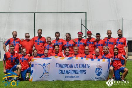 Команда NOR MXD натурнире EUC 2019 (МД, 19/19)