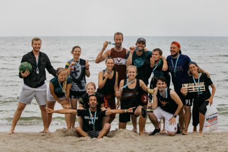 Команда Frequent Flyers натурнире SUN BEAM 2019 (МД, 2/20)
