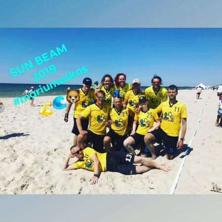 Команда Marių Meškos натурнире SUN BEAM 2019 (МД, 14/20)