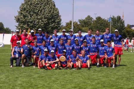 Команда USA натурнире WU-24 2019 (OU24, 1/18)