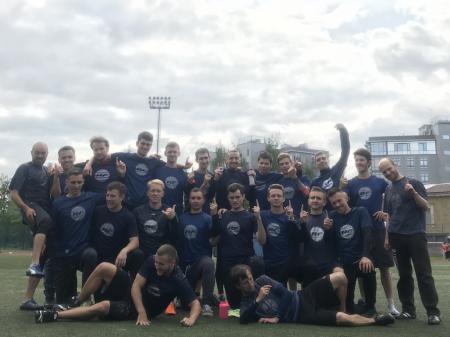 Команда Real Five натурнире EUCR-N O+W+X 2019 (ОД, 1/8)
