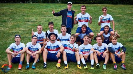 Команда RUS U20 Men натурнире EYUC 2019 (OU20, 12/16)