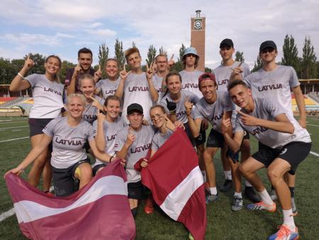 Команда LAT U20 Mixed натурнире EYUC 2019 (MU20, 1/7)